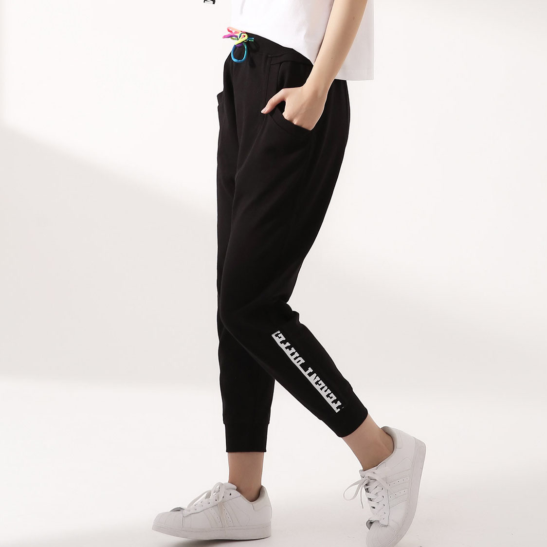 french terry pants new pants design for girl long track pants