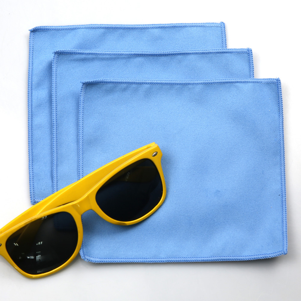 Microfiber clean lens glasses Cloth phone cleaning cloth  Tablet computer screen wiping cloth