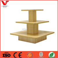 Design children retail store wooden clothes display rack for kids