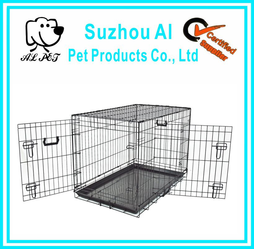 "New 36"" Crate Metal Portable Folding Pet Cat Cage"