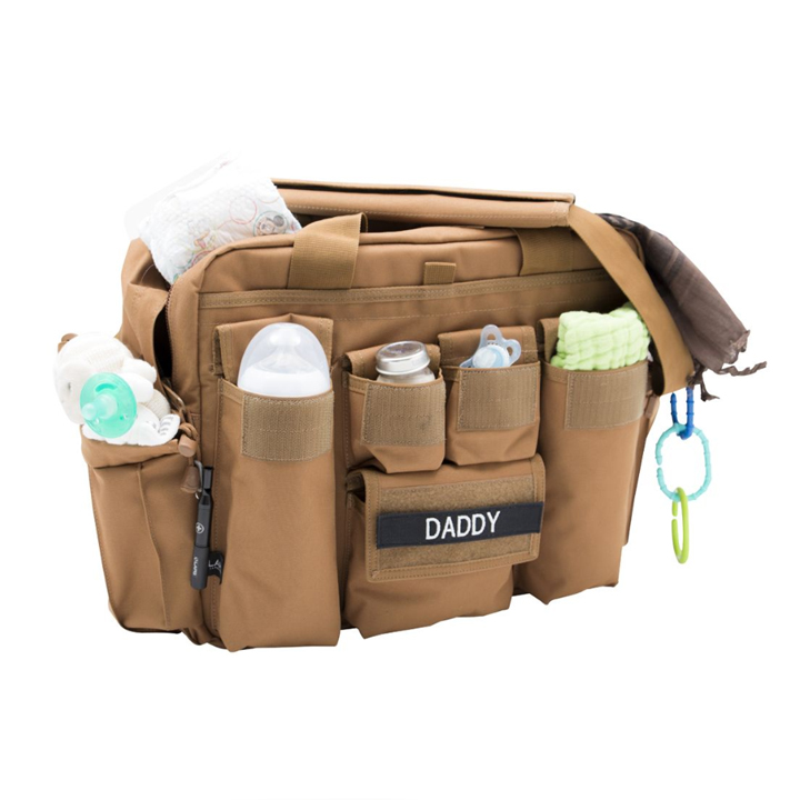 2020 Amazon's Choice Tactical Military Diaper Bag For Dad and Mom