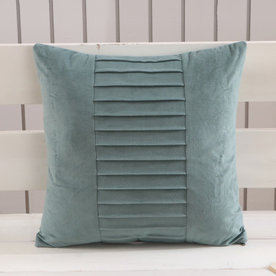 Ad Gift Custom Solid Color Square Sofa Cushion Pillow