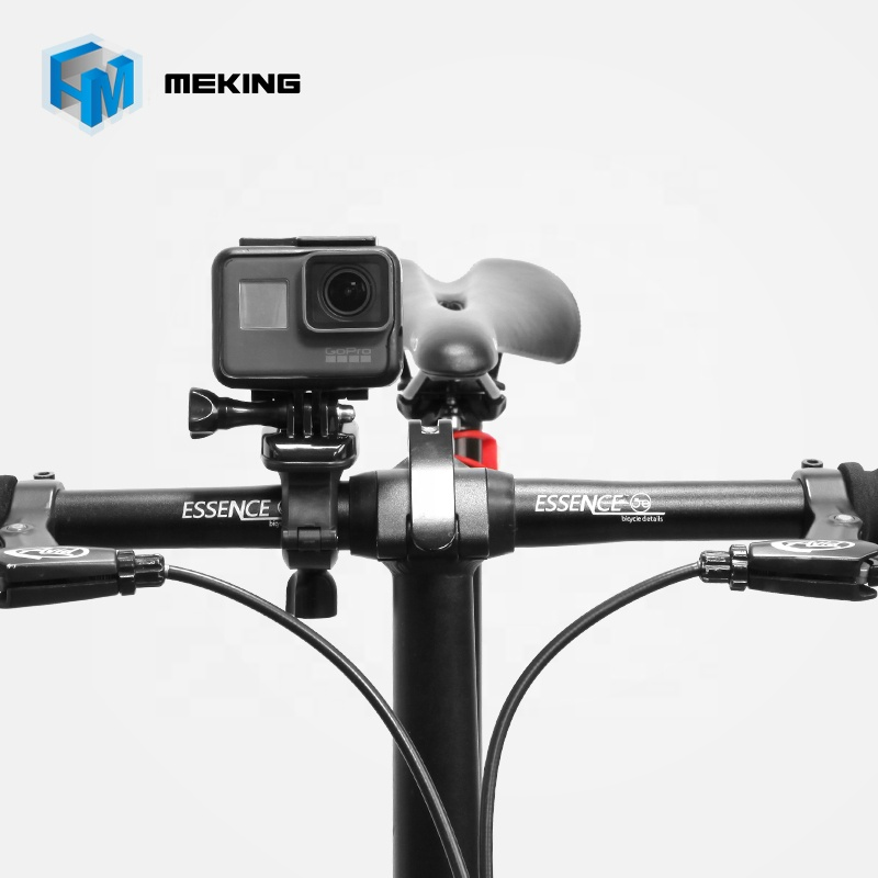 360 Degree Rotate Bicycle Bike Handlebar Seatpost Pole Mount For Gopro фото