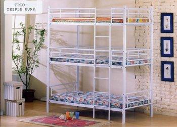 Trio Bunk Bed Buy Tbb1 Product On Alibaba Com