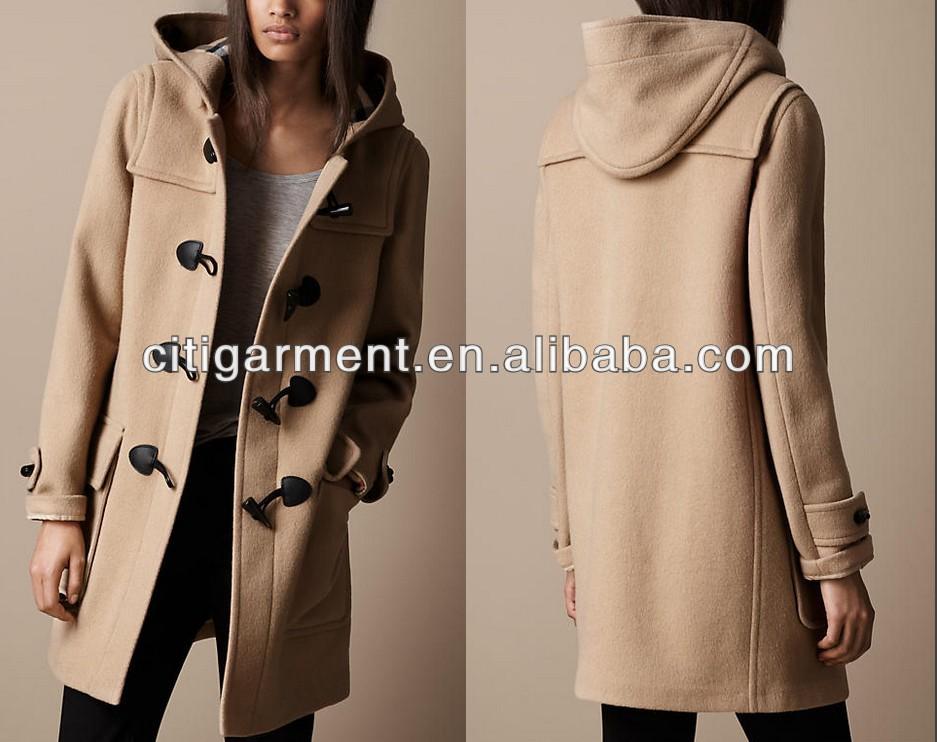 Women Wool Duffle Coat - Buy Unique Womens Coats,Womens Long Wool ...