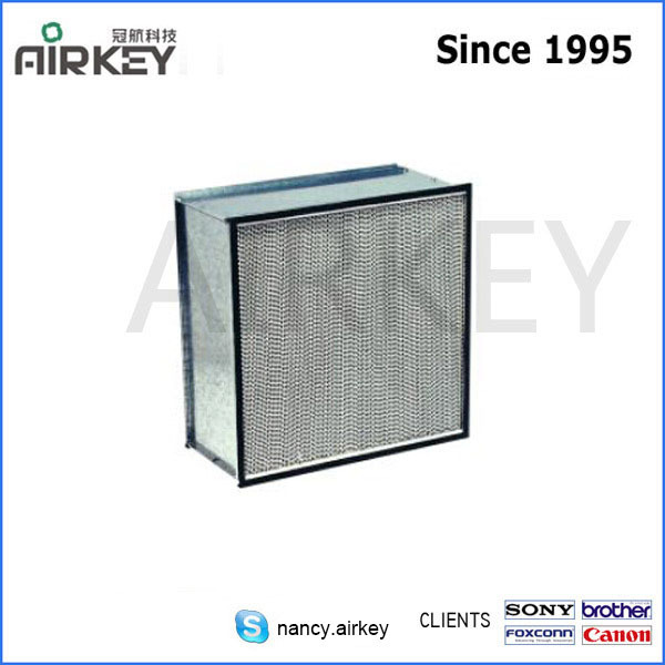 cleanroom H13 hepa filter box,air filter