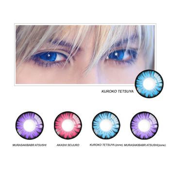 Realcon wholesale miracle times cosmetics charming eye colored contact lenses