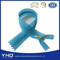 New Design Polyester Tape 100% Nylon #3 Invisible Zipper