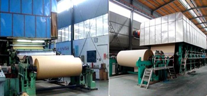 test liner paper production line