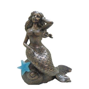 Bronze Figurines For Sale resin craft bronze mermaid statue - buy bronze mermaid statue