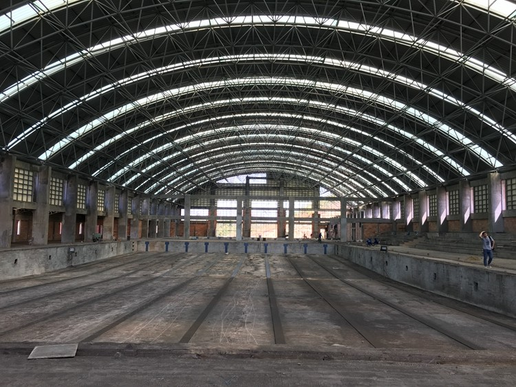 Prefab Arch Steel Space Frame Steel Dome Roof Construction