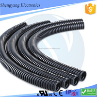 china suppliers wholesale used engine wiring harness black pe corrugated tubings