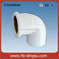 PVC Threaded Female Elbow Quick Connect Plumbing Fittings