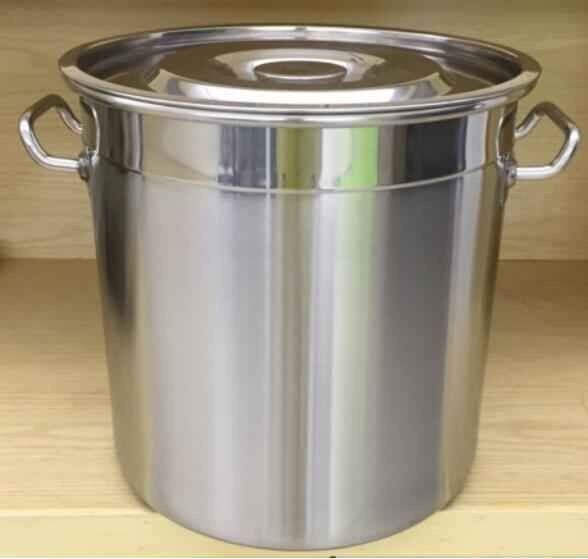 100L stainless steel cookware set stock pot