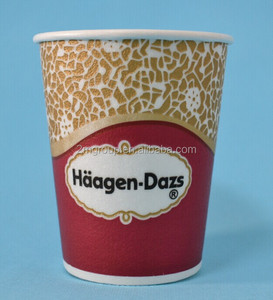 disposable foam coated paper cup with Custom Design