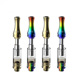 Empty magic disposable e cigarette vape pen colored rainbow smoke electronic dab cbd cartridge box