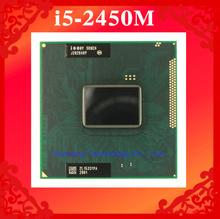 Lifetime warranty Core i5 2450M 2.5GHz SR0CH 2450 Notebook processors Laptop CPU PGA 988 Official version  Computer Original
