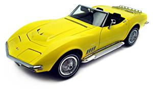 1969 Chevrolet Corvette - Daytona Yellow 1:18 (japan import)