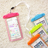 Promotional clear pvc waterproof phone bag for cell phone with customization