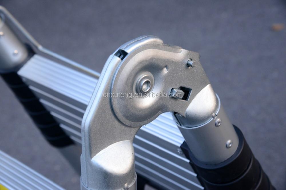 Husky agilität geschwindigkeit schritt loft aluminium teleskopleiter