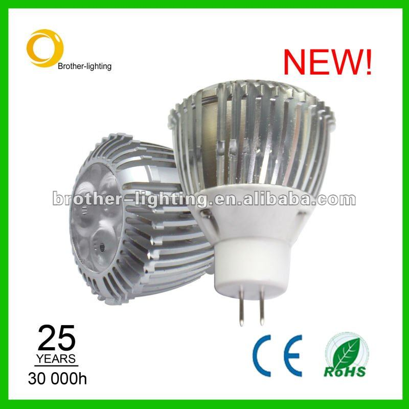 Cree 12v 3w Gu4 Led Mr11 Bulb ( E11,Gu10,Ba15d,Gu4 Base Available ...