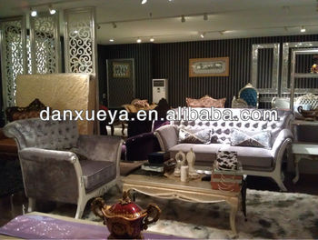 Italian Antique Style Wooden Sofa Uk In White Color 849