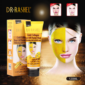 Dr.Rashel Gold Peel Off Mask Gold Collagen Whitening Facial Mask 120 Ml