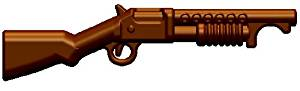 BrickArms 2.5 Scale M97 Trench Gun Brown