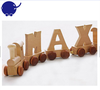 for kids alphabet Wooden letter train