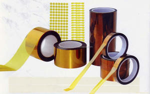 Gold finger tape heat resistant pi label material