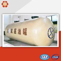 Horizontal oil tanks double walled fuel fibreglass oil storage tanks