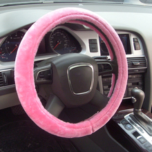 2017 Promotion Gift Pink Steering Wheel Cover