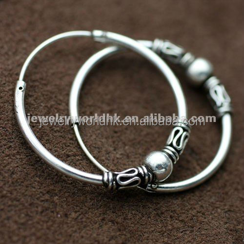 Tribal Hoop Earrings 925 Sterling Silver Product On Alibaba