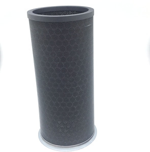 Popular Active Carbon Filter hepa carbon air filter industrial cylindrical dust cartridge filter