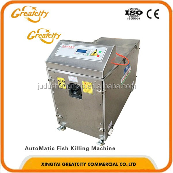 Fish Killing And Cleaning Fish Viscera Removal Machine