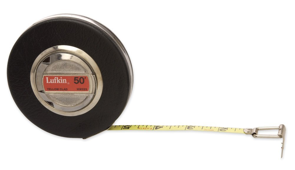 "Lufkin Tape,Long Banner 3/8""X100' (1 Each) Hw226"