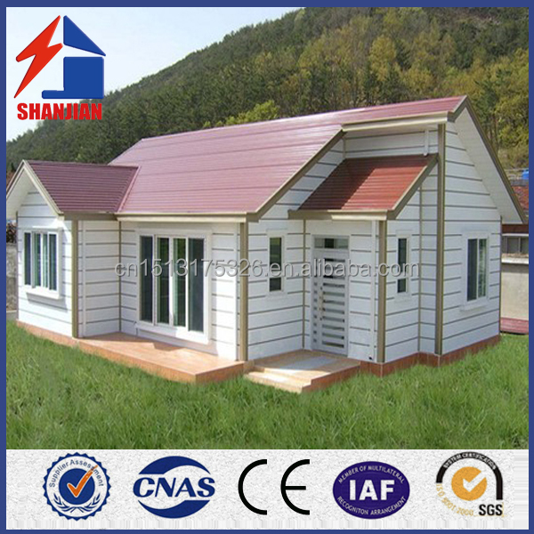Easy To Install Light steel Prefabricated House Villa