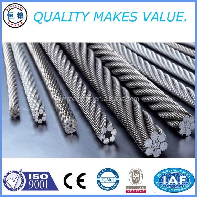 Steel Wire Rope Cable 19mm Steel Wire Rope Din 3055 Steel Wire ...