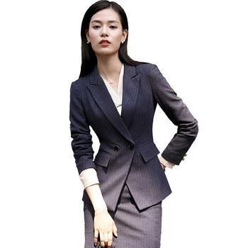 Women Formal 2 Piece Skirts Pants Suit Design Las Office Strip Suits Lady S Woman Product