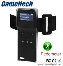 New sport armband clip mp3 player,clip music mp3 with pedometer,mp3 music player with usb port