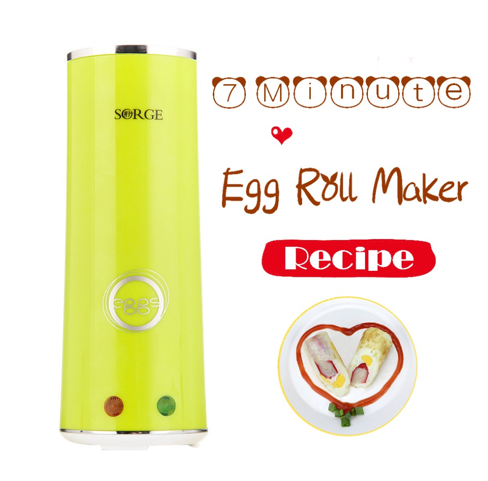 2017 Home appliance egg roll maker mini snack maker with recipe