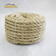 12mm Natural Sisal Rope High Quality 2mm 2mm 36mm Twist Sisal Rope for Decoration of Christmas Tree