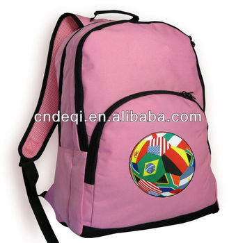 713e614e95 Cute Flag Soccer Ball Backpack CUTE PINK BEST QUALITY BACKPACKS SCHOOL BAGS  Girl