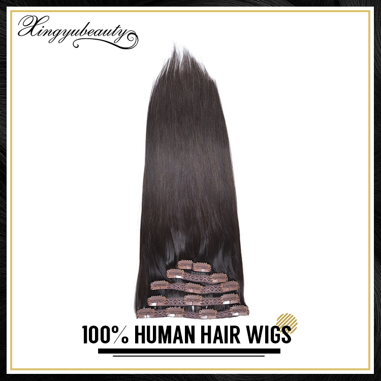 OEM supplied real hair extensions, permanent wig, virginal hair product