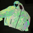 Super soft nylon iridescent jacket