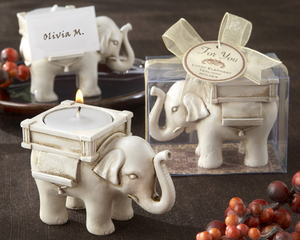 Wedding Gift Elephant Tea Light Candle Holder