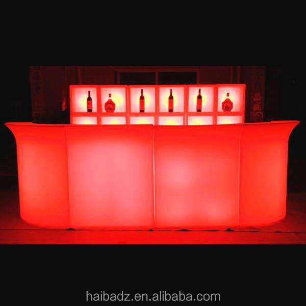 Aufblasbare Möbel Für Erwachsene China Fabrik Beleuchtet Führte Bartresen  Design Barhocker Barhocker Möbel