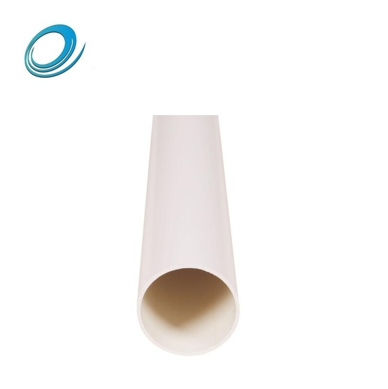 Large diameter 200mm famous local brand names plastic pvc drainage pipe