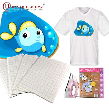 Inkjet Light Fabric Tshirt Heat Magic Transfer Paper