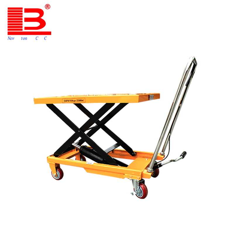 Factory price Raised by 1.26 meters hand crank motorcycle table lift mechanism for sale